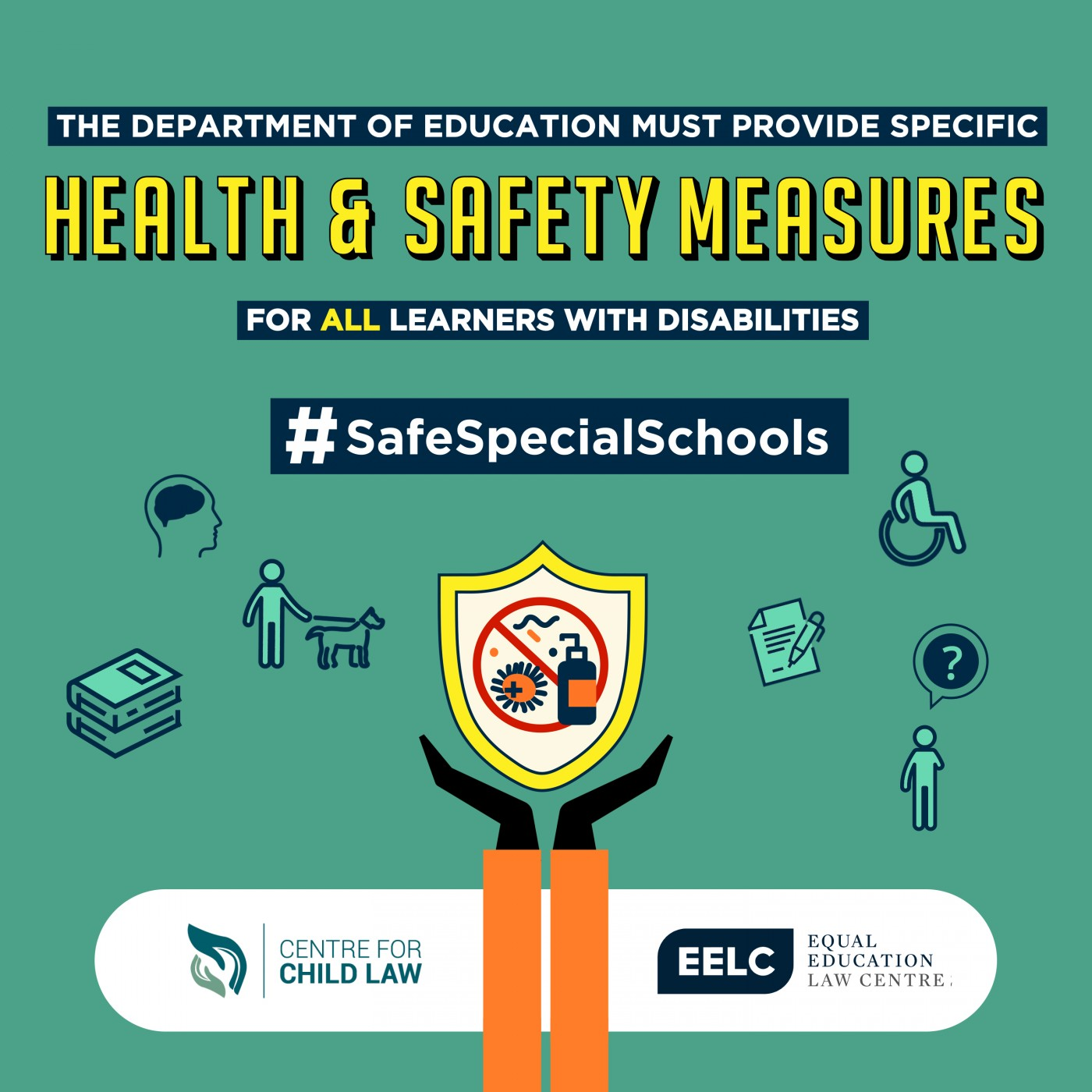 #SafeSpecialSchools #LeftBehindAgain #ProtectDisabledLearners- Learners with Disabilities